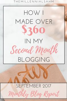 I'm officially two months into my blogging journey and y'all, I'm loving it! I know it may be weird to share my blog's progress - especially so early on - but it's posts like these that encouraged me when I was considering starting my blog.  It's my hope that these monthly progress reports are encouraging and that they show you that it is possible to launch a successful blog - from scratch. Start A Blog | Make Money Blogging | Blog Income Report | Increase Blog Traffic | Passive Income |