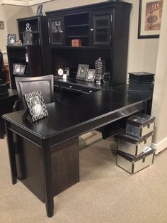 Carylyle 5 Piece Home #Office set  Includes: Tall Desk Hutch Home Office Large Leg Desk Large Credenza File Cabinet Home Office Corner Table  All at your Ashley #Furniture Homestore in #TriCities