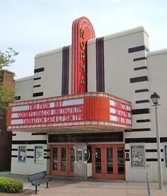 art deco theater sign - Google Search