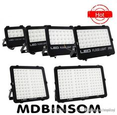 SMD Ultra Thin Led Floodlights 10W 20W 30W 50W 100W 150W Outdoor Flood Lights Landscape Lighting AC110-240V Garden Lighting CE UL FCC Floodlight Led Led Flood Light LED Spot Flood Light Online with $200.4/Piece on Binsom's Store | DHgate.com Outdoor Flood Lights, Led Flood Lights, Outdoor Lighting, Led Work Light, Work Lights, Light Led, Luminous Flux, Lighting Online, Landscape Lighting