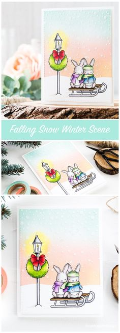 Cute winter scene using the STAMPtember exclusive by Memory Box. Find out more about this card by clicking on the following link: http://limedoodledesign.com/2016/09/winter-scene-memory-box-stamptember/