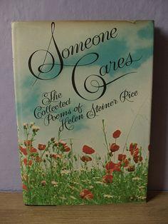 Helen Steiner Rice Comfort Poems | vintage Helen Steiner Rice poetry book, Someone Cares, 1972, Jesus ...