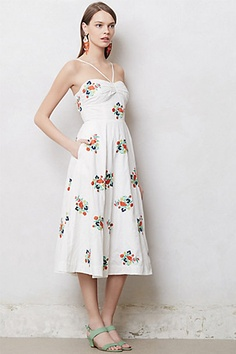 11 Flirty Sundresses For The Blazing Heat And Beyond #Refinery29