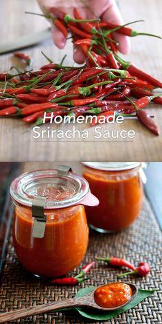 Sriracha Recipes, Hot Sauce Recipes, Canned Jalapeno Hot Sauce Recipe, Hot Sauce Canning Recipe, Hot Pepper Oil Recipe, Best Sauce Recipe, Taste Recipe, Pepper Jelly Recipes, Canning Recipes