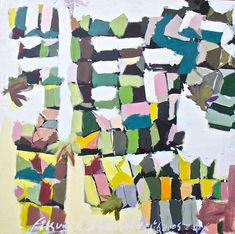 Fitsum Berhe- Lamu Town from Sky, 2017 - Acrylic on canvas - 151 x 151 cm African Artists, Contemporary Art, Art Gallery, Sky, Quilts, Canvas, Artwork, Heaven, Tela