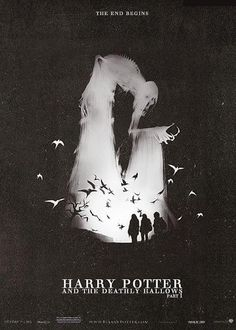 Harry Potter and the Deathly Hallows: Part 1 poster Why have I never seen this poster? Harry Potter Poster, Images Harry Potter, Mundo Harry Potter, Harry James Potter, Harry Potter World, Hogwarts, Slytherin, Lord Voldemort, Film Serie