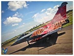 "French Armée de l'Air Dassault Rafale EC 1/7 ""Provence"" in Tiger meet special scheme- Photo: EC 1/7."