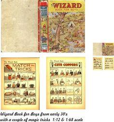 JDayMinis, Wizard book for boys