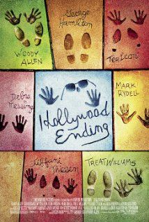"""""""Hollywood Ending"""" (dir. Woody Allen, 2002) --- A director (Woody Allen) is forced to work with his ex-wife (Téa Leoni), who left him for the boss of the studio bankrolling his new film. But the night before the first day of shooting, he develops a case of psychosomatic blindness."""