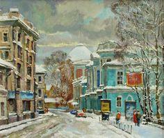 Pokrovskie Gate  --------------------------------------------------------------------------------    Artist     Valeri Izumrudov
