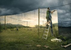 These 15 Pictures By Photographer Erik Johansson Construct A Magic World For Us