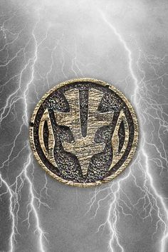 MMPR White Ranger Tigerzord Coin iPhone Wallpaper by RussJericho23.deviantart.com on @deviantART