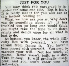 I don't know where this is from... type and language suggest it's pretty old...but incredibly applicable.