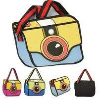 Japan #Unisex 3D Jump Style 2D #Drawing Cartoon Paper Comic School Backpack #Camera #Bag Satchel T_WBH009