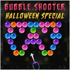 Bubble Shooter #Halloween Special is a #classical #bubble #shooter game with #exclusive levels. There will be 40 exciting #levels in this #game.