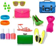 Neon is the latest summer craze! We love this article on how to match an outfit with these bright pieces! #summer #style
