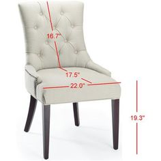 Charlton Home Plainville Side Chair Upholstery: Cream Wicker Dining Chairs, Upholstered Dining Chairs, Living Room Chairs, Dining Room Furniture, Plywood Furniture, Modern Furniture, Furniture Design, Industrial Office Chairs, Home Decor Baskets