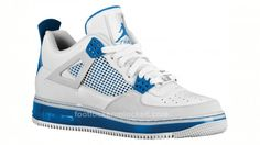 Air Jordan 3 AF-1 - Air Force 1 Fusion - Millitairy blue
