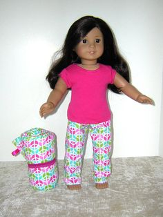 Sleeping Bag for Bitty Baby American Girl Ann by ItsSewSusan, $18.00