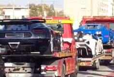 Supercars of African dictator's son seized again, this time a Veyron, Veneno and One:1