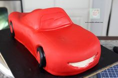 Rayo McQueen Cake paso a paso| Natalia Salazar - Disney Cars Party, Disney Cars Birthday, Lighting Mcqueen Cake, Fondant Cakes, Projects To Try, Mc Queen, Listerine, Design, Car Cakes