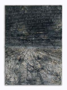 Abstract art: Anselm Kiefer, Aschenblume, 2007-2012