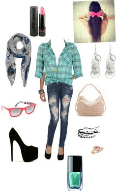 """""""pinkbluday"""" by derrickdirectioner ❤ liked on Polyvore"""