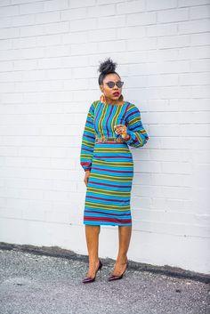 Ankara Dress by Yetunde Sarumi | Titi's Passion