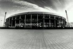Stadion Feyenoord (Football) Rotterdam, The Netherlands. Architect: Leendert van der Vlught.