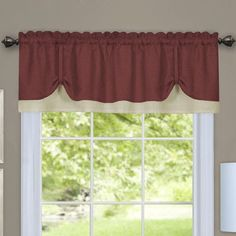 Rod Pocket Curtain Valance