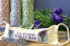 Coussins de relaxation Chauffants / Rafraîchissants remplis d'un mélange de grains de blé, de fleurs de lavande et d'huile essentielle de Lavande pure ! www.lady-lorcy.com