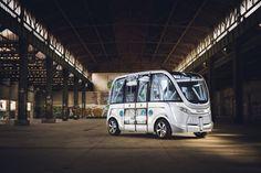 В Лионе начали курсировать беспилотные автобусы