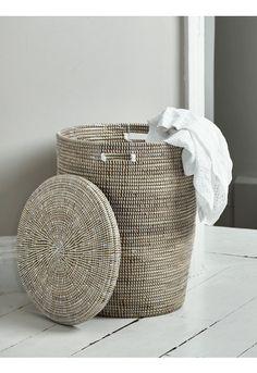 NEW Handwoven Laundry Basket