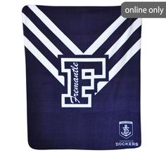 afl-team-logo-polar-fleece-printed-throw-fremantle-dockers