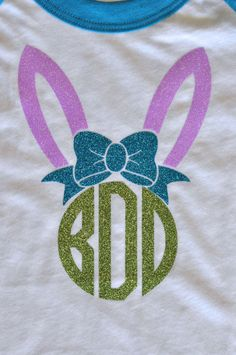 Easter Onesie  Customizable Colors  Easter Shirt  by LoveandPrint