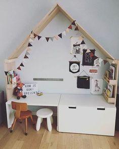 29 ideas baby room diy decorations ikea hacks for 2019 Ikea Kids Desk, Ikea Kids Room, Cool Kids Rooms, Kids Bedroom, Bedroom Ideas, Kid Rooms, Baby Bedroom, Design Ikea, Playroom Design