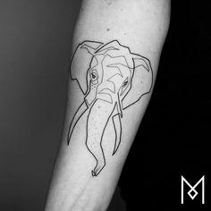 #elephant #moganji #singleline
