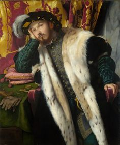 Moretto da Brescia Retrato de un hombre joven c.1540-45