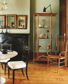 john derian's home green paint color