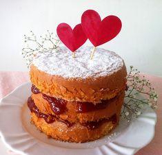 Chocorango: Mini Naked Cake de Leite Condensado, Coco e Goiabada