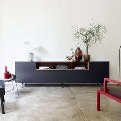 piure creating living space – sideboard nex line regal flex puro – piure create living space Modern Sideboard, Sideboard Buffet, Kitchen Sideboard, White Sideboard, Side Board, Living Spaces, Living Room, Tv Cabinets, Art Decor