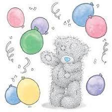 ♥ Tatty Teddy ♥ Me to You ♥ Balloon Party ♥ Teddy Photos, Teddy Pictures, Bear Pictures, Cute Pictures, Teddy Images, Tatty Teddy, Bear Birthday, Happy Birthday, Birthday Bash