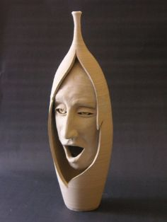 wood carved expression