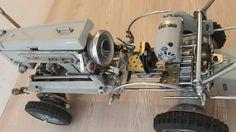 Bigfoot sewing machine car  atd design a.tarikdemirbas@hotmail.com