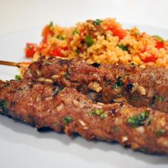 How to Make Spiced Moroccan Kefta Kebabs with Lamb or Beef