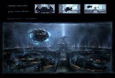 The Matrix: 70 Original Concept Art Gallery - Daily Art, Movie Art