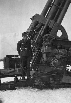 Flak 105 mm , Norway