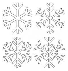 Modele flacon avent pinterest flacons coloriage et flocons - Flocon de neige en papier a imprimer ...