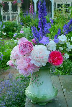 Aiken House & Gardens: My Garden Bouquets