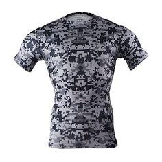 M.Baxter Camiseta de running - Hombre de manga corta para hombre con cuello  redondo · Manga CortaRopa Gym HombrePlayeras DeportivasCamisetas ... 63882c07cd925